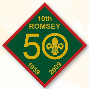 50th badge