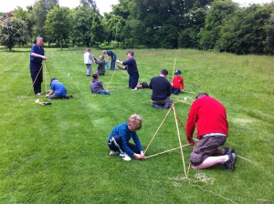 Building Catapults, Father & Son day