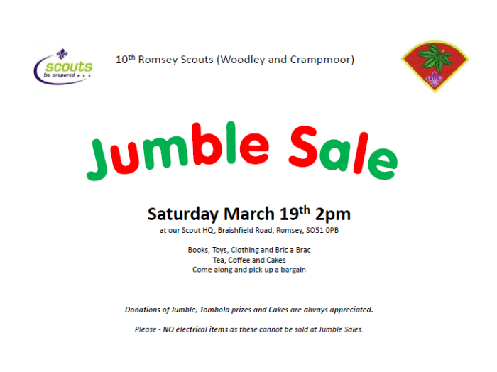 March 2016 Jumble Sale 2016.docx